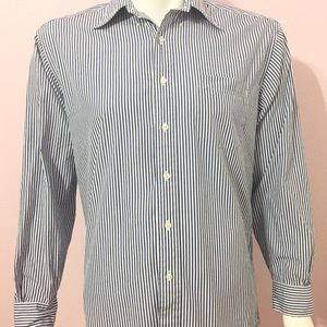 brooks brothers mens cotton button down shirt
